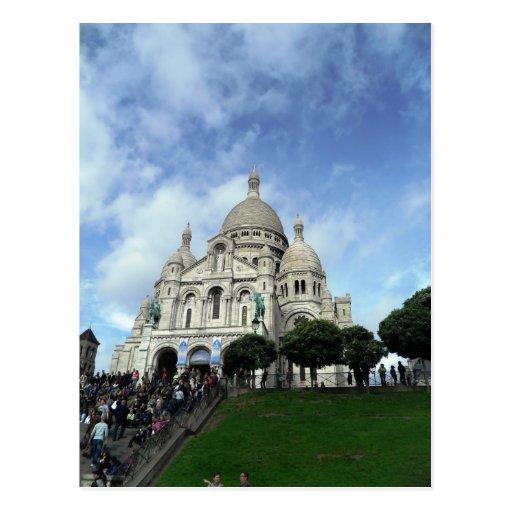 Sacre Coeur Montmartre Paris Post Card