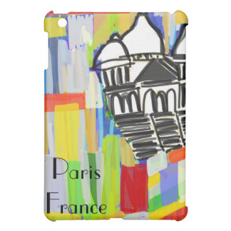 Sacre Coeur Paris France Abstract Art iPad Mini Covers