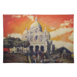 sacre coeur paris placemat