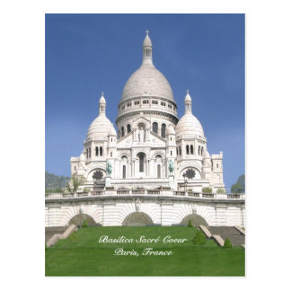 Sacré-Coeur Post Card