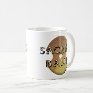 Sacred Band Logo Two-Tone Mug