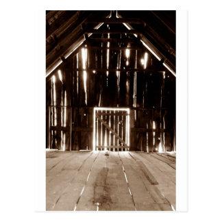 Sacred Barn Postcard