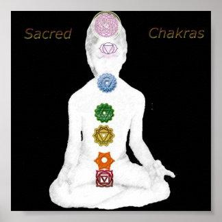 Sacred Chakras Print