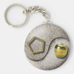Sacred Chao Basic Round Button Key Ring