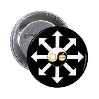 Sacred Chao Star 6 Cm Round Badge