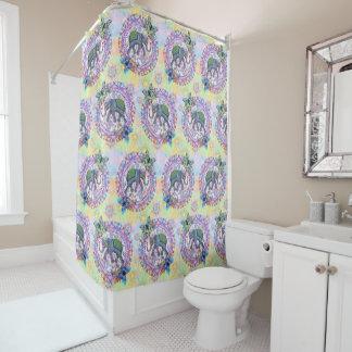 Sacred Elephant Shower Curtain
