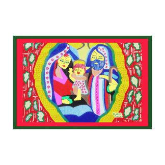 Sacred Family Canvas Prints