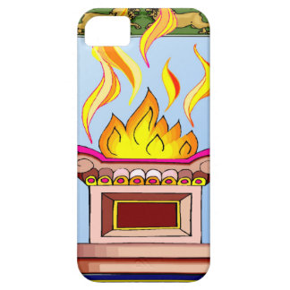 Sacred flame iPhone 5 case