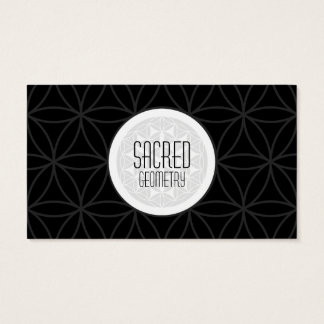 sacred geometry business card