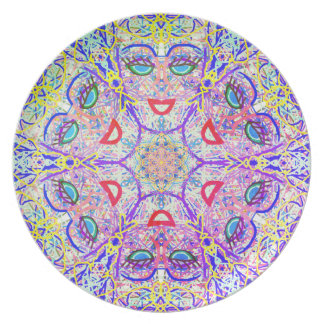 """Sacred Geometry """"Can Can"""" Plate by MAR"""