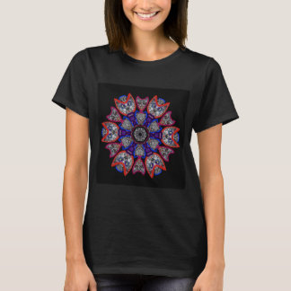 "Sacred Geometry ""Cats"" T-shirt"" by MAR T-Shirt"