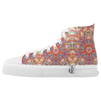 "Sacred Geometry ""Eidos"" High Tops  by MAR"