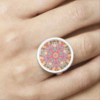 "Sacred Geometry ""Eidos"" Ring By MAR"