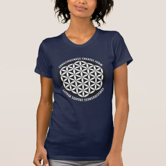 Sacred Geometry: Flower of Life - Quote T-Shirt