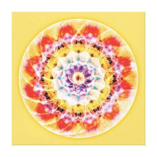 Sacred Geometry Mandala 10 Canvas Print