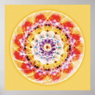 Sacred Geometry Mandala 10 Poster
