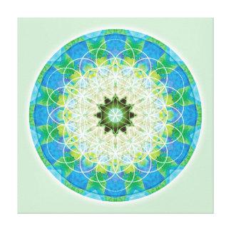Sacred Geometry Mandala 12 Canvas Print
