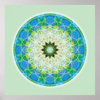 Sacred Geometry Mandala 12 Poster
