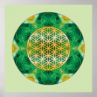Sacred Geometry Mandala 1 Print