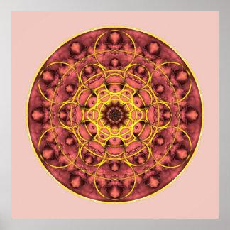 Sacred Geometry Mandala 4 Poster