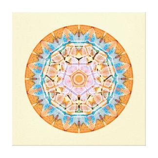 Sacred Geometry Mandala 5 Stretched Canvas Print