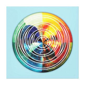 Sacred Geometry Mandala 8 Canvas Print