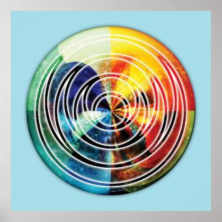 Sacred Geometry Mandala 8 Poster