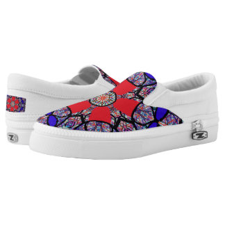 "Sacred Geometry ""Nichito""  Slip On Shoes by MAR"
