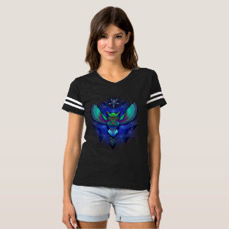 Sacred Geometry Owl Football Shirt