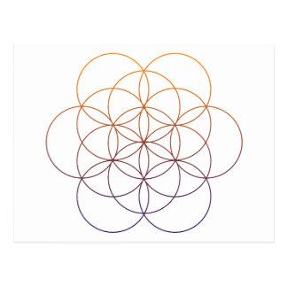 Sacred Geometry Postcard