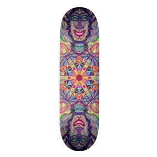 "Sacred Geometry ""Spinning Wheel"" Skateboard by MAR"