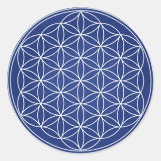 Sacred geometry sticker