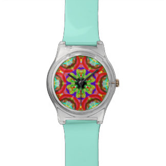 "Sacred Geometry ""Tribal Faces"" Wrist by MAR Watch"