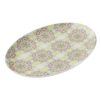 """Sacred Geometry """"Yummy"""" Coupe Platter by MAR"""