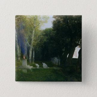 Sacred Grove, 1886 15 Cm Square Badge