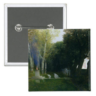Sacred Grove, 1886 15 Cm Square Badge