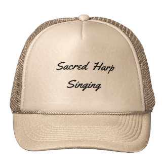 Sacred Harp Singing Cap