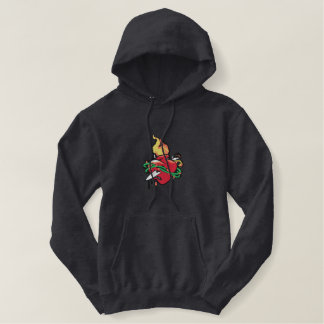 Sacred Heart Embroidered Hoodie