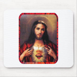 SACRED HEART OF JESUS 06 CUSTOMIZABLE PRODUCTS MOUSE PADS