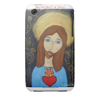 Sacred Heart of Jesus Case-Mate iPhone 3 Cases