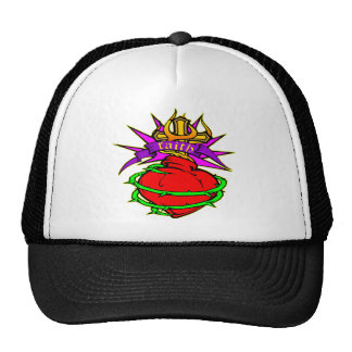 Sacred Heart of Jesus Christ Faith Tattoo Cap