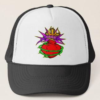 Sacred Heart of Jesus Christ Faith Tattoo Trucker Hat