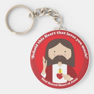 Sacred Heart of Jesus Key Ring