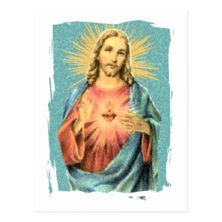 Sacred Heart of Jesus Postcard