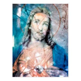 Sacred Heart of Jesus Post Card