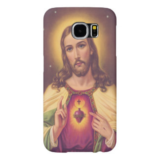 Sacred Heart of Jesus Samsung Galaxy S6 Cases