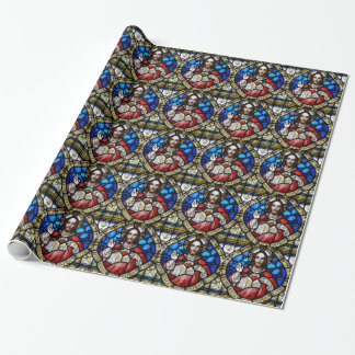 SACRED HEART OF JESUS WRAPPING PAPER