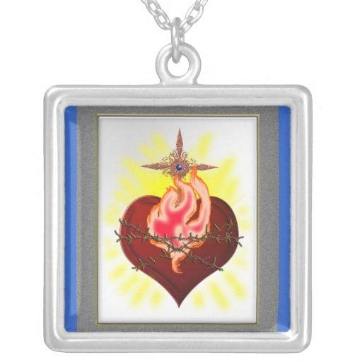 sacred heart sentiment jewelry