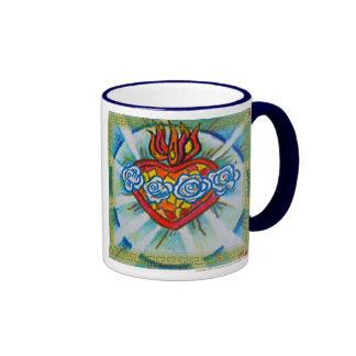 Sacred Immaculate Heart of Mary Coffee Mug