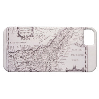 Sacred Map of Palestine, The Promised Land iPhone 5 Cover